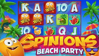 Spinions Beach Party Online Slot from Quickspin