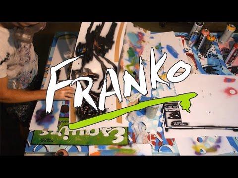 Franko Artist - Urban Pop art - Live and raw painting