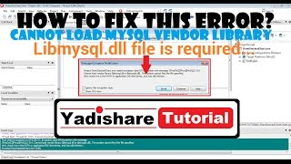 How To Fix Error Cannot Load MySQL Vendor Library In Delphi XE