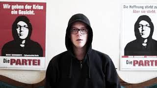 Nico Semsrott: Rücktrittsrede nach Scheitern bei der Bundestagswahl 2017