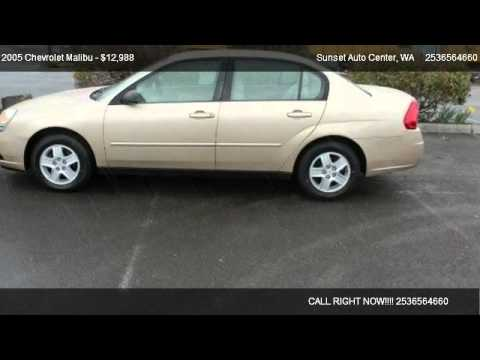 Chevrolet Malibu Maxx Ls Early Sons Sales