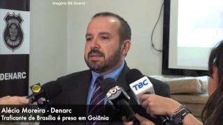 Traficante de Brasilia é preso em Goiânia