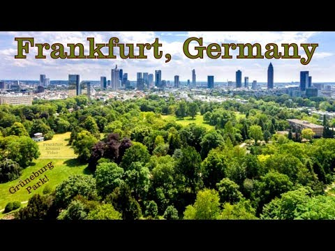 Frankfurt's Legendary Grüneburg Park & Other Great Sights (Germany)