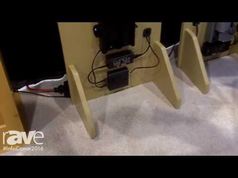 InfoComm 2016: Wood Technology Intros Whisper-Ride 600 TV Lift