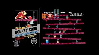 Donkey Kong (NES) All Levels | NES - Nintendo Switch Online