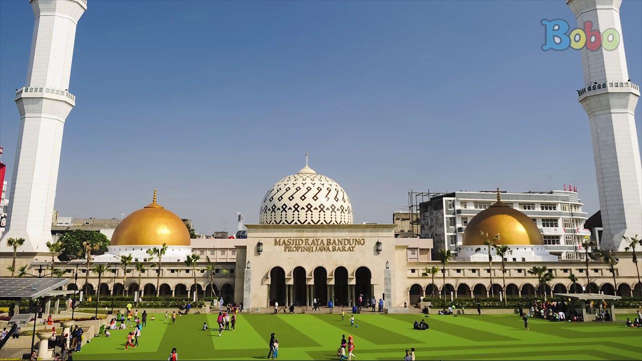 Indonesiaku Menara Kembar Masjid Raya Bandung Youtube