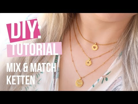 Schmuck machen: Mix & Match mit Stainless Steel! ♡ DIY