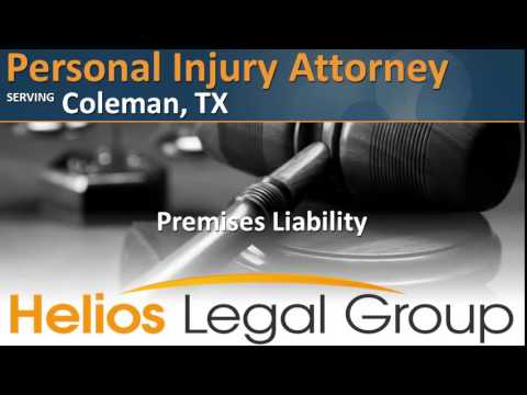 Coleman Personal Injury Attorney - Texas