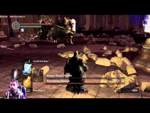 Dark Souls Killing Ornstein And Smough Sorcery/Magic Only