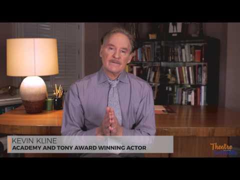 Kevin Kline TIOS National Spokesperson on Theatre Ed in Digital Age