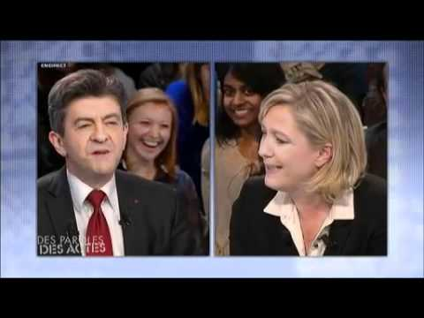 Le Pen vs Mélenchon : le clash