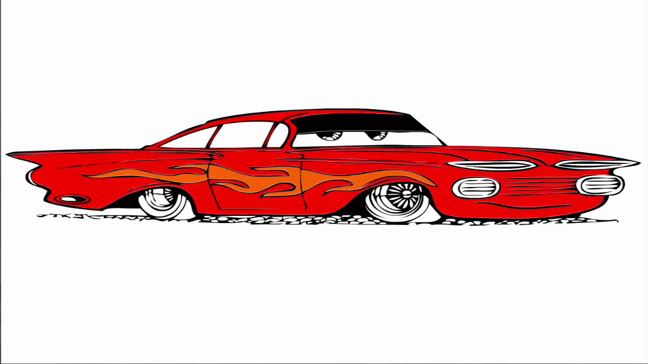 cars coloring pages for kids very cool car coloring youtube