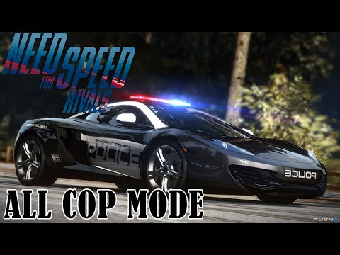 Need for Speed Rivals - All Cop Mode