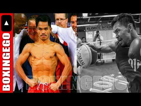 MANNY PACQUIAO RETURNS VINTAGE PRIME PACQUIAO HAIRCUT/LOOK FOR MATTHYSSE FIGHT; CLEARS AIR ON RUMORS