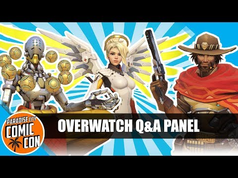 Overwatch Q & A with Matt Mercer, Lucie Pohl, and Feodor Chin
