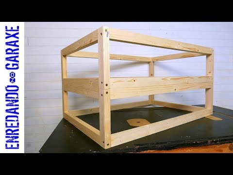 How to make a very simple wooden frame
