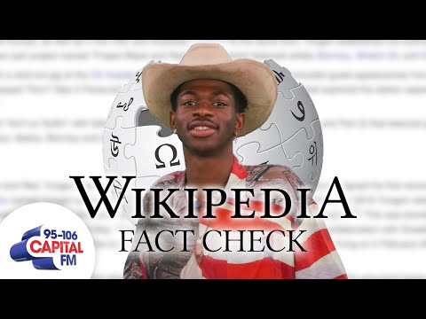 Lil Nas X: Wikipedia Fact Check  Capital