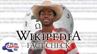 Lil Nas X: Wikipedia Fact Check | Capital