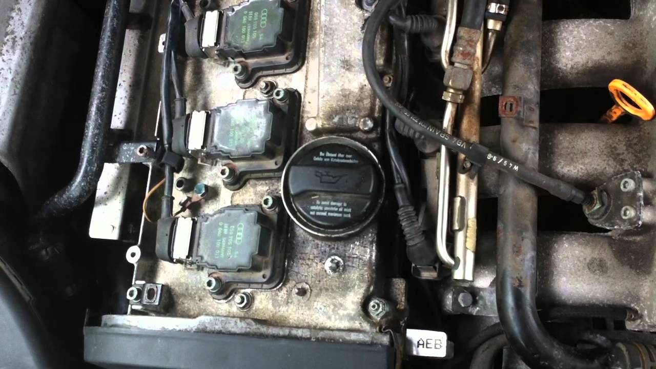 99 Audi A4 18t Sounds Like A Diesel Knock Below 2400 RPM