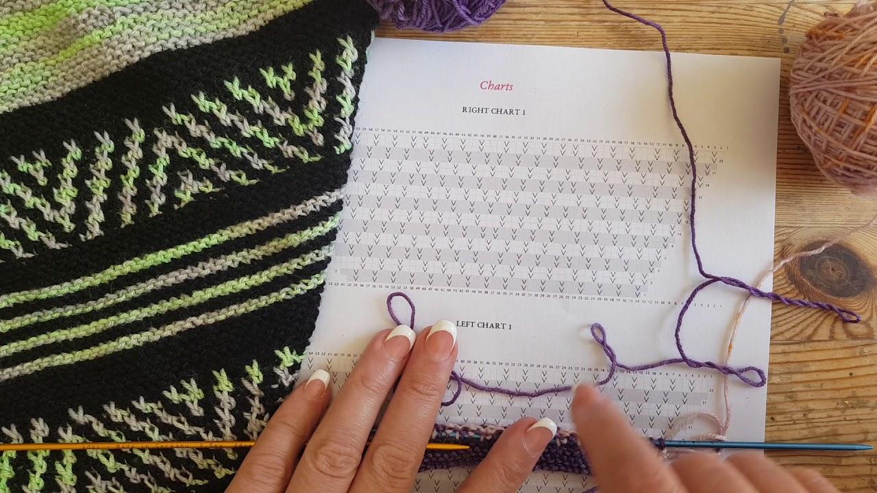 TRICOT Mosaïc Knitting - YouTube