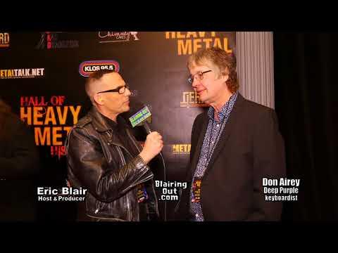Don Airey & Eric Blair talk Ritchie Blackmore's Future w Deep Purple