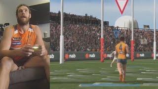 GWS Giants Play AFL Evolution