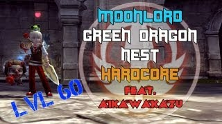 Green Dragon Nest Hardcore 11mins39s w/ AikawaKazu (Moonlord) - Dragon Nest SEA - Level 60