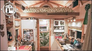 Incredible TINY HOUSE Transforms into a Traveling Theater