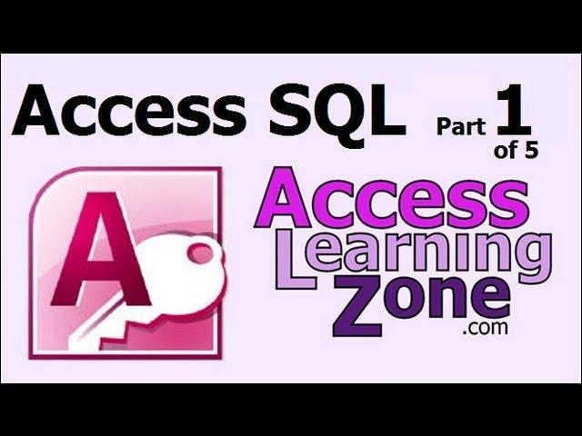 Microsoft Access SQL