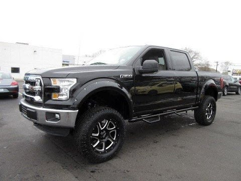 Used Lifted 2015 Ford F-150 4WD SuperCrew XLT