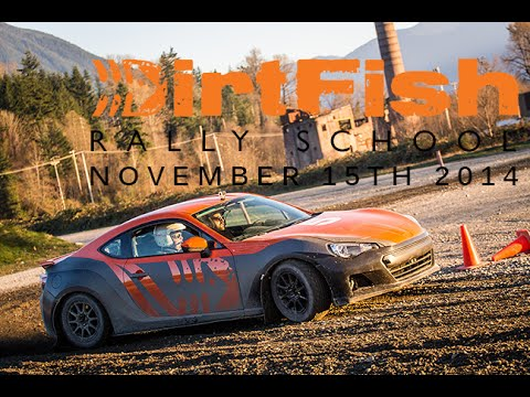 Subaru BRZ at DirtFish Rally School RWD - YouTube