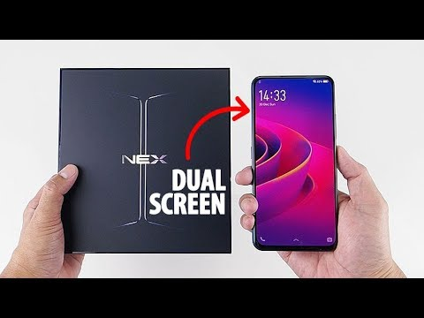 Buka Box VIVO NEX 2 DUAL DISPLAY, Pertama di Indonesia