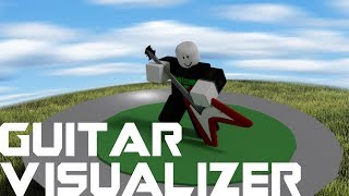 Roblox Script Showcase Episode#1035/Guitar Visualizer