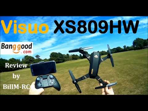 Visuo XS809HW review - including  Day & Night flights