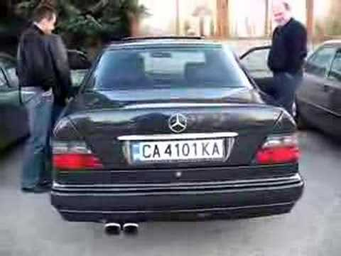 Mercedes-Benz Club Bulgaria,Sofia - E 500 W124 1