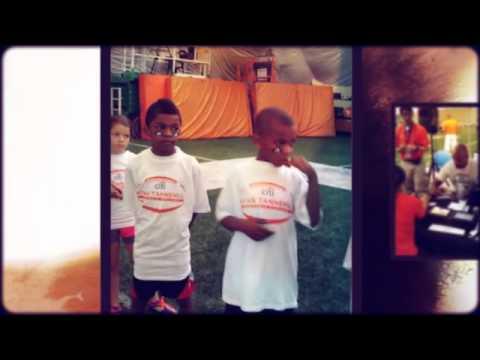 Jason Taylor and Ryan Tannehill Football Camp
