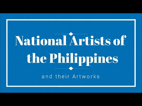 National Artists of the Philippines and Their Artworks
