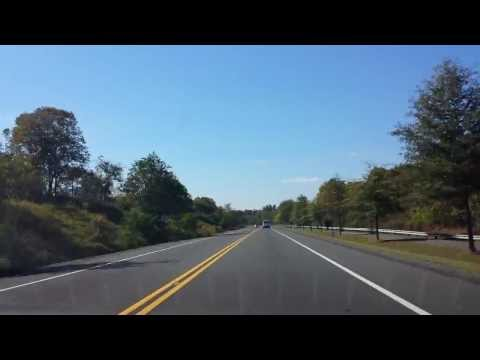 Time Lapse Driving from College Park, MD down New Hampshire Avenue and into suburbs