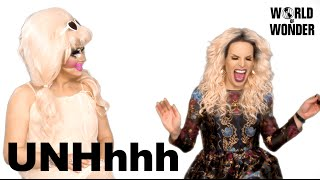 Enjoy the video? Subscribe here! http://bit.ly/1fkX0CV Trixie & Katya discuss their impressions of each other when they first met on the set of RuPaul's Drag Race ...