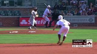 Baseball: Highlights | A&M 19, Long Beach State 1