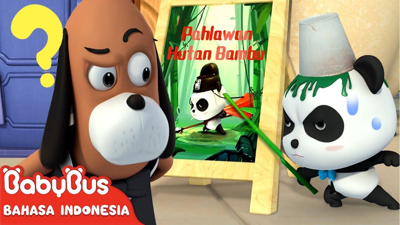 Apakah Kiki Adalah Pahlawan Hutan Bambu? | Kartun Anak | Animasi Anak | BabyBus Bahasa Indonesia