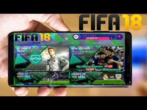 FIFA 18 Android Game download | FIFA 18 Latest Mod download