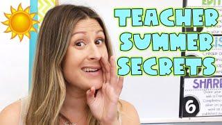 Summer Teacher TAG!!