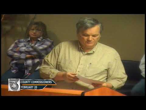 County Commissioners - February 20, 2018