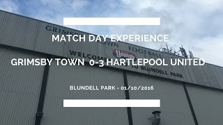 Groundhop at Blundell Park - Grimsby Town vs. Hartlepool United - I FINALLY MADE IT!!