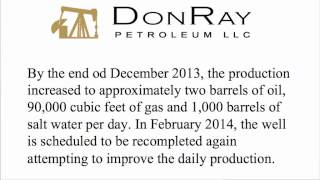 DonRay Petroleum Announced Completion of the DRP Grace #43 Well