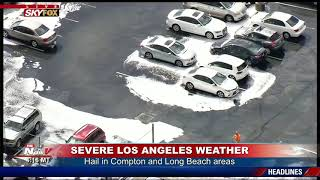SEVERE SOCAL WEATHER: Flooding in Los Angeles Shuts Down Roadways