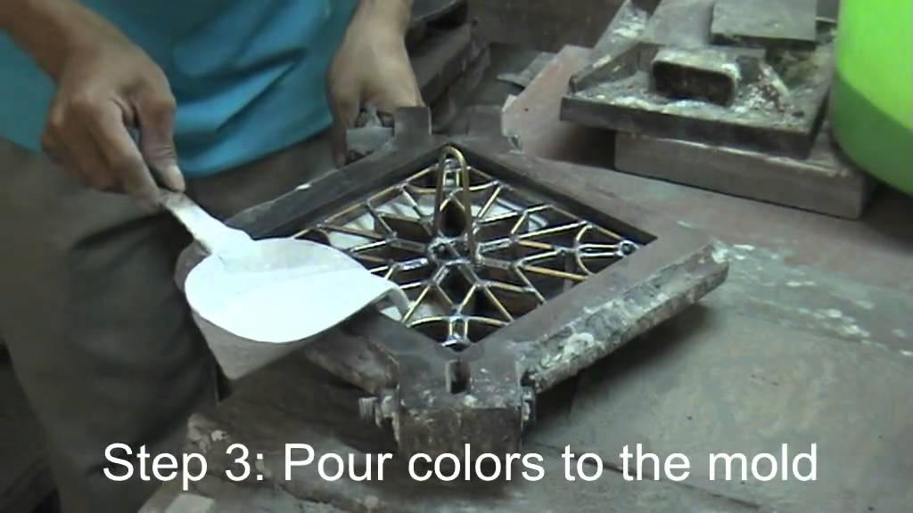 How to make cement tile | Doovi
