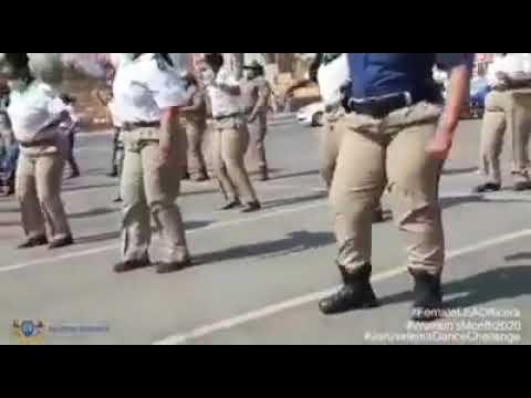 Jerusalem dance challenge also featuring Zimbabwe police