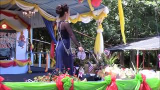Mam Parwadee at 4July 2014  Wat Lao Buddhavong #1
